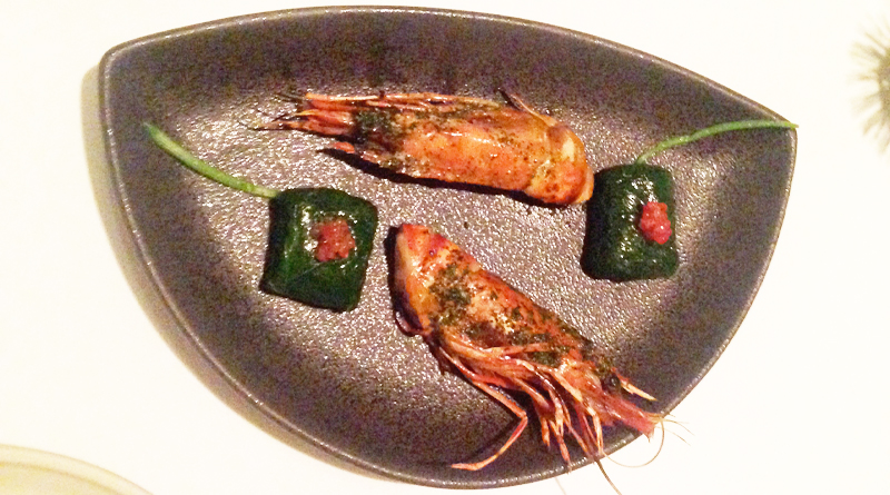 Brae restaurant review prawns