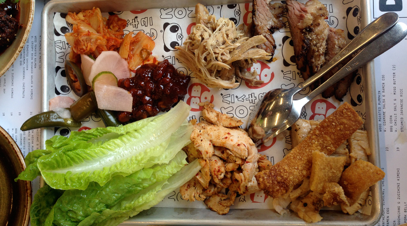 Kong restaurant review Bo Ssam Tray