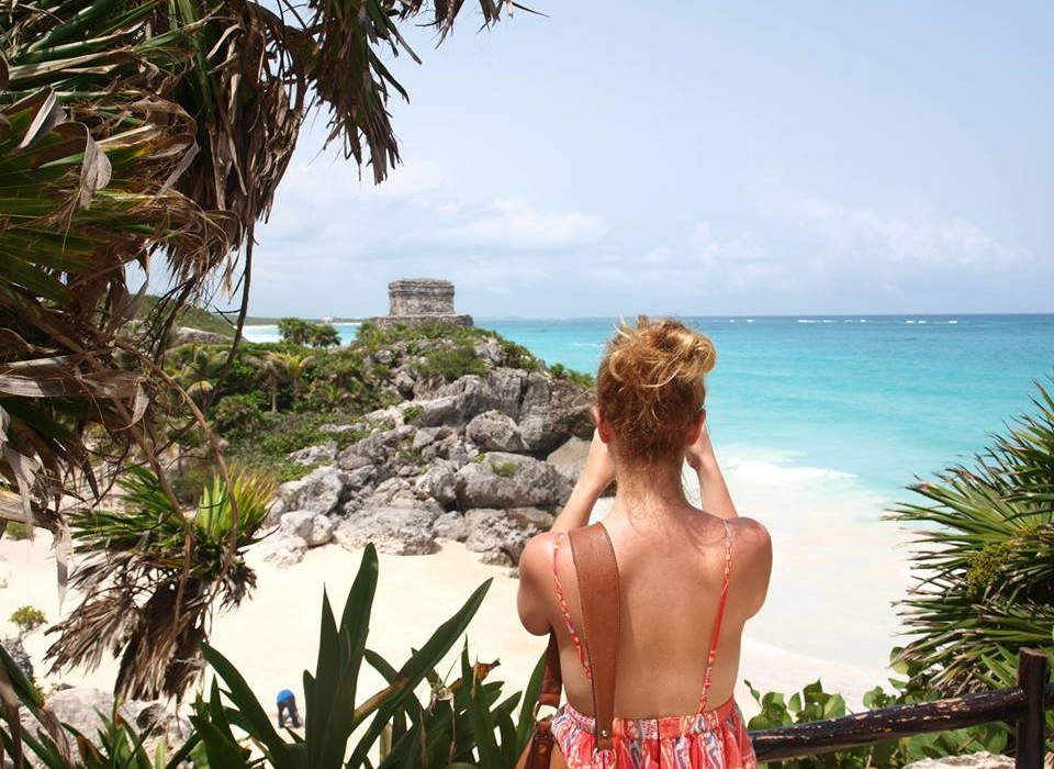 Postcard from Mexico Riviera Maya Tulum Ruins