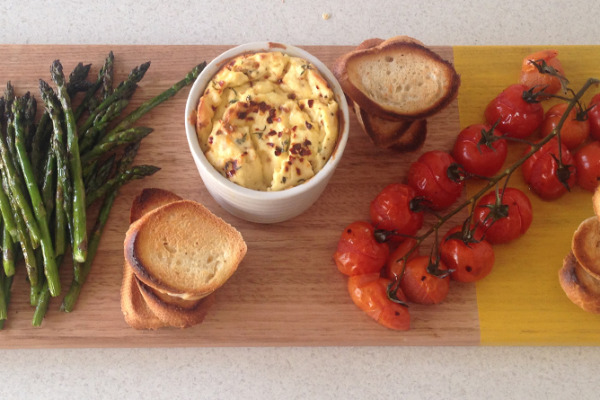 Entertaining made easy | spring lunch platter | Eat My Words