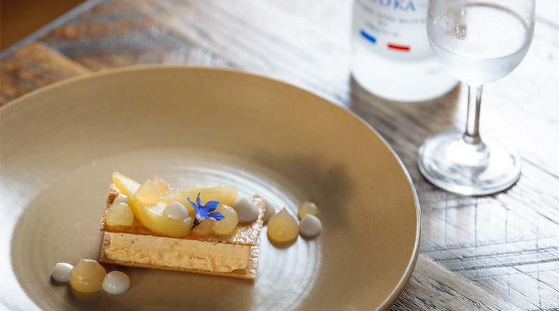 Grey Goose | Saint Crispin Dessert | Eat My Words