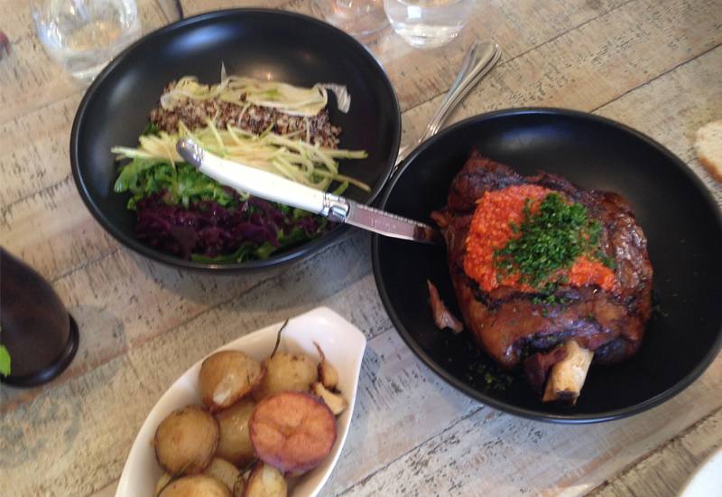 Muse Kitchen Hunter Valley lamb for two