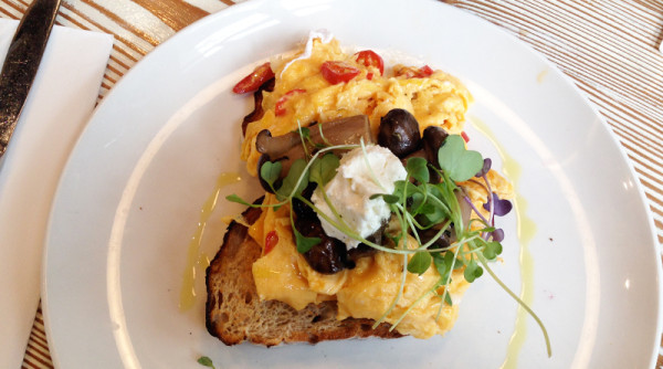Cafes in Richmond Top Paddock Scrambled Eggs
