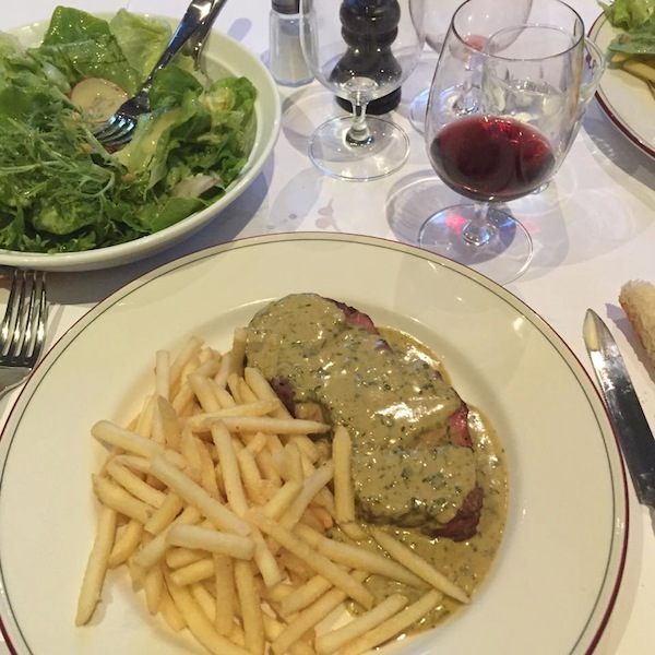 Entrecote restaurant in South Yarra steak frites