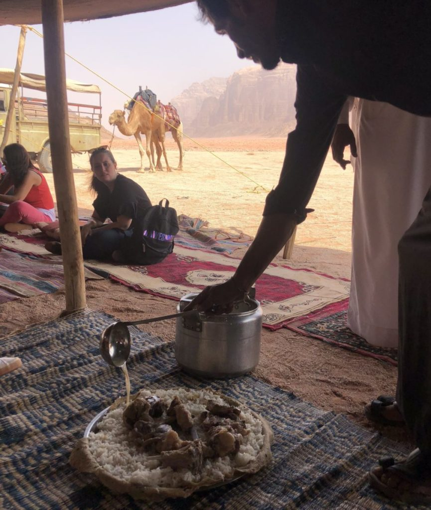 Food lovers tour of Jordan_Bedouin camp