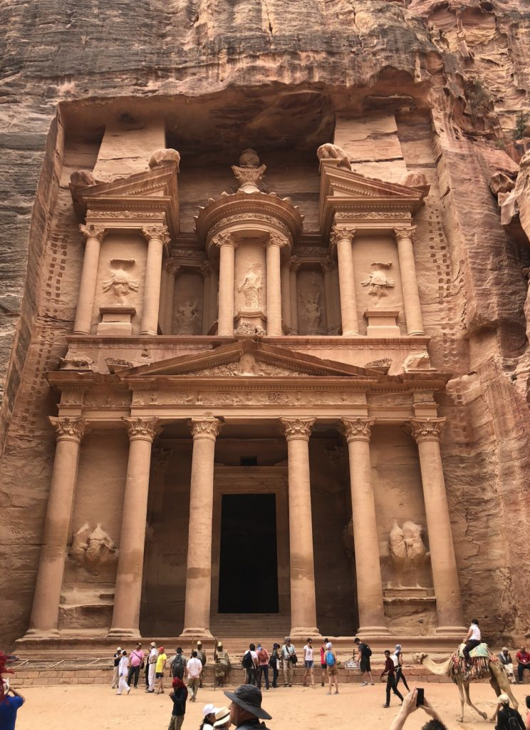Food lovers tour of Jordan_The Treasury Petra
