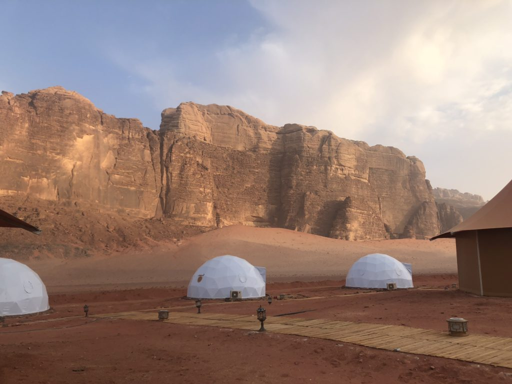 Food lovers tour of Jordan_Wadi Rum camp