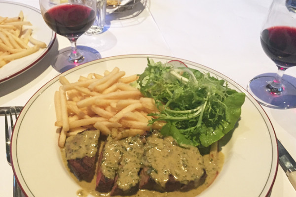 Entrecote Restaurant in South Yarra Steak Frites and Wine